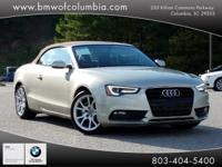 We are excited to offer this 2013 Audi A5. Your buying