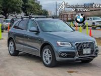 We are excited to offer this 2013 Audi Q5. How to