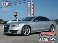 Check out this 2013 Audi S8 . Its Automatic