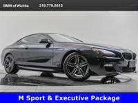 2013 BMW 640i, located at BMW of Wichita. Original MSRP