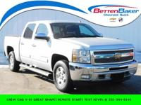 **CREW CAB V-8** CHROME WHEELS** HD COOLING PKG AND TOW