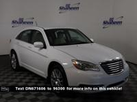Bright White Clearcoat 2013 Chrysler 200 LX FWD 4-Speed
