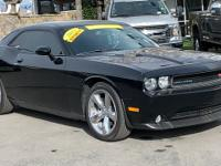 CARFAX One-Owner. Clean CARFAX. Black 2013 Dodge