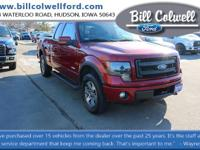 Ruby Red Metallic Tinted Clearcoat 2013 Ford F-150 FX4