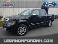 2013 Ford F-150 Platinum4WD LEATHER INTERIOR, SUN/MOON