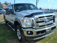 Clean CARFAX. Ingot Silver Metallic 2013 Ford F-250SD