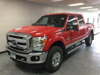 Low Miles! Local Trade! Vermillion Red 2013 Ford