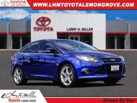 2013 Ford Focus Titanium FWD 6-Speed Automatic with
