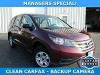 CARFAX VERIFIED 1 OWNER!! BACKUP CAMERA, BLUETOOTH,