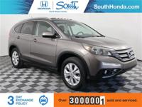 Recent Arrival! Clean CARFAX. 2013 Honda CR-V EX-L Gray