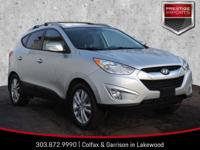 New Price! Diamond Silver 2013 Hyundai Tucson Limited