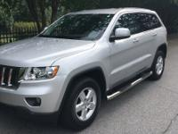 2013 Bright Silver Metallic Jeep Grand Cherokee Laredo
