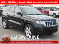 2013 Jeep Grand Cherokee Laredo Black Forest Green