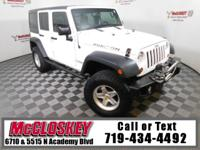 Lifted and capable 2013 Jeep Wrangler Unlimited Rubicon