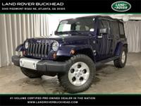 2013 Jeep Wrangler Unlimited Sahara **Clean CarFax!**,