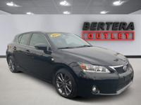 2013 Lexus CT Obsidian 200h Rear Backup Camera, CLEAN