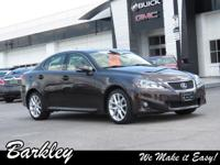 Brown 2013 Lexus IS 250 AWD 6-Speed Automatic