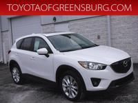 Crystal White Pearl 2013 Mazda CX-5 Grand Touring AWD