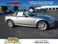 This 2013 Mazda Miata Sport in Liquid Silver Metallic
