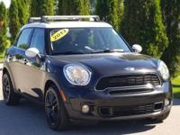 Absolute Black Metallic 2013 MINI Cooper S Countryman