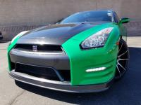 Green 2013 Nissan GT-R Black Edition AWD 6-Speed
