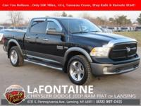 2013 Ram 1500 Outdoorsman Black Clearcoat 4WD Clean
