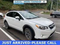 2013 Subaru XV Crosstrek 2.0i Limited Satin White Pearl