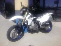 I currently have a 2013 Suzuki Dr-Z 400 Sm for sale.
