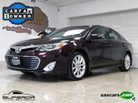 1-Owner Avalon XLE Premium with a Clean CARFAX. Recent