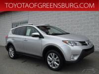 Silver 2013 Toyota RAV4 Limited AWD 6-Speed Automatic