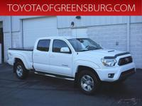 Super White 2013 Toyota Tacoma V6 4WD 5-Speed Automatic