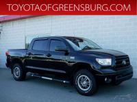 Black 2013 Toyota Tundra Grade CrewMax 4WD 6-Speed