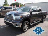 Climb inside the 2013 Toyota Tundra! Representing the