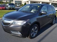 2014 Acura MDX 3.5L FWD 6-Speed Automatic. *One Owner*,