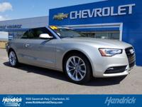 PRICED TO MOVE! This A5 Cabriolet is $1,800 below