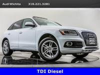 2014 Audi Q5 3.0 TDI quattro located at Audi Wichita.