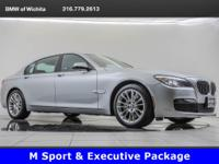 2014 BMW 750Li xDrive, located at BMW of Wichita.