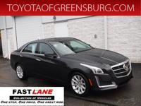 Black Diamond 2014 Cadillac CTS 2.0L Turbo Luxury AWD
