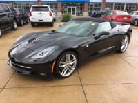 2014 Chevrolet Corvette Stingray Z51 3LT Black 3LT