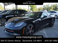 Our 2014 Chevrolet Stingray 3LT Coupe is shown in a