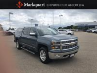 CARFAX One-Owner. Blue Granite Metallic 2014 Chevrolet