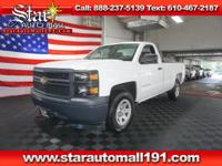 CARFAX One-Owner. White 2014 Chevrolet Silverado 1500
