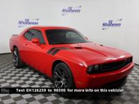 Clean CARFAX. High Octane Red Pearlcoat 2014 Dodge