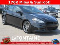 2014 Dodge Dart SXT Rallye Pitch Black Clearcoat FWD