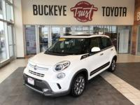 Buon Giorno! Meet our One Owner 2014 FIAT 500L Trekking
