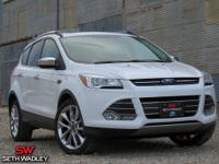 Oxford White 2014 Ford Escape SE AWD 6-Speed Automatic