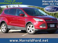 2014 Ford Escape SE CARFAX One-Owner. Clean CARFAX.This