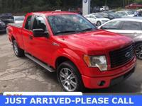 2014 Ford F-150 STX Race Red 4WD **Clean One-Owner
