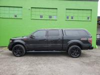 2014 Ford F150 SuperCrew Cab FX4 Pickup 4 Door, 5.5ft
