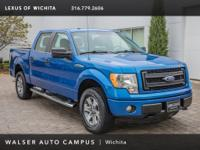 2014 Ford F-150 STX, located at Lexus of Wichita.